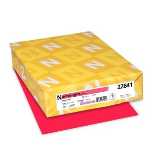 Astrobrights Colored Card Stock, 65 lbs., 8-1/2 x 11, Rocket Red, 250 Sheets (並行輸入品)