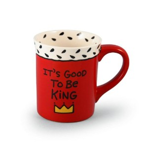 Our Name Is Mud by Lorrie Veasey Good to be King Mug, 4-1/2-Inch by Enesco