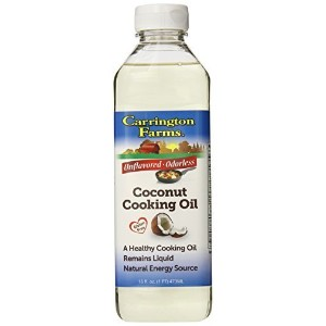 Carrington Farms Coconut Cooking Oil, 16 Ounce by Carrington Farms [並行輸入品]