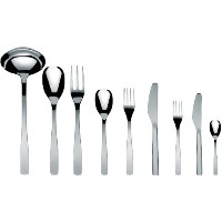 "A di Alessi "" Knifeforkspoon "" 75-piece Set , Includes TwelveテーブルナイフMonoblockと12デザートナイフMonoblock..."