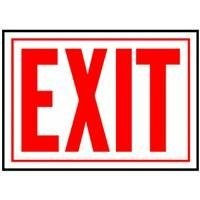 Hyko Prod.SS-2WFluorescent Signs-10X14 EXIT SIGN (並行輸入品)