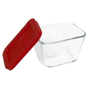 Pyrex Simply Store 1-9/10 Cup Rectangular Glass Food Storage Dish by Pyrex