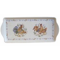 Corelle Melamine Tidbit Tray, Country Morning by CORELLE