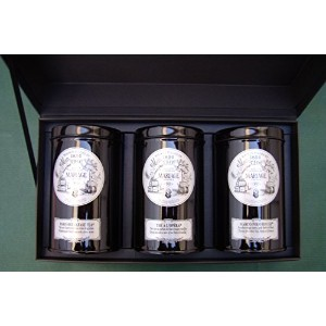 MARIAGE FRERES (マリアージュフレール) - FRENCH TEA TIME™ gift set / ギフトセット (3 x 100gr) 並行輸入品
