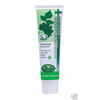 Dentiste Plus White Vitamin C & Xyitol Toothpaste 100 G Made in Thailand by N MARKET