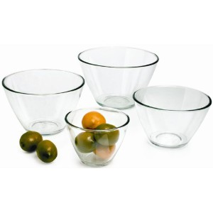 Anchor Hocking 4-Piece Splash Proof Bowl Set. by Anchor Hocking