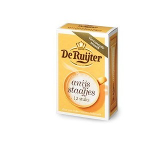 De Ruijter ANIJS staafjes which you Dissolve in Warm Milk, Helps you Sleep!) 5 Pack(ea x 12 pcs) by...