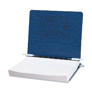 Pressboard Hanging Data Binder, 11 x 8-1/2 Unburst Sheets, Dark Blue (並行輸入品)