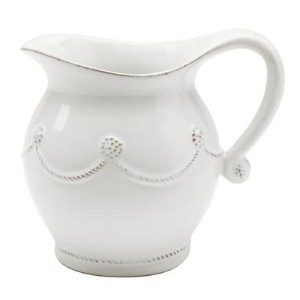 "【並行輸入品】Juliska ""Berry & Thread"" Creamer Whitewash"