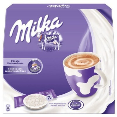 Milka Chocolate Pads - 7 Serving - Senseo Compatible by Milka [並行輸入品]