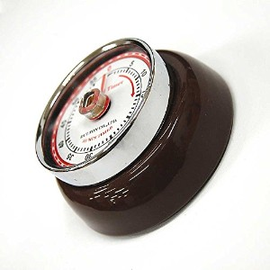 ダルトン COLOR KITCHEN TIMER WITH MAGNET ブラウン