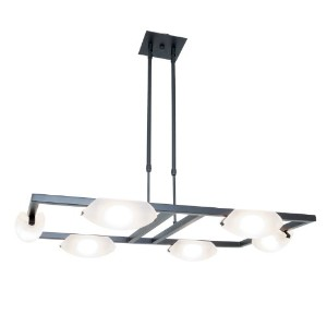 Access Lighting 63962-ORB/FST 6 Light Nido Adjustable Chandelier by Access Lighting