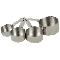 Thunder Group Stainless Steel Measuring Cup Set by Thunder Group
