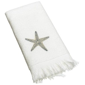 Avanti Linens By The Sea Fingertip Towel, White by Avanti Linens [並行輸入品]