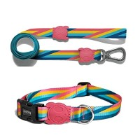 zee.dog(ジードッグ) リードと首輪のセット XSサイズ 超小型犬向け BOWIE_COLLARS(XS) BOWIE_LEASH(XS)