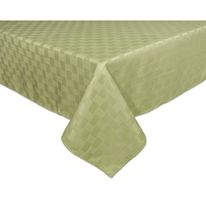 Bardwil Reflections Spill Proof 52 X 70 Oblong / Rectangle Tablecloth, Sage by Bardwill