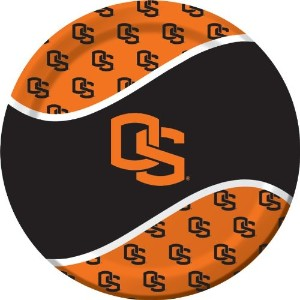 Creative Converting 8Count Oregon State Beavers Paper Dinner Plates