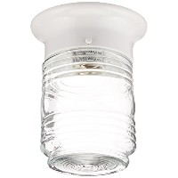 Boston Harbor HV-66919-WH-3L Porch Light Jelly Jar White by Boston Harbor