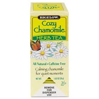 Single Flavor Tea, Cozy Chamomile, 28 Bags/Box (並行輸入品)