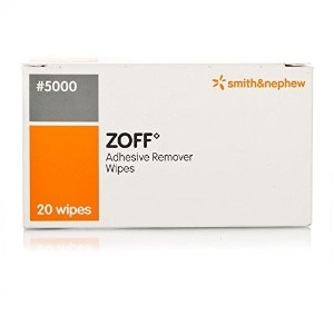 Zoff Adhesive Remover Wipes by Zoff