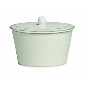 Royal Doulton Opalene Covered Sugar Bowl, 12-Ounce by Royal Doulton