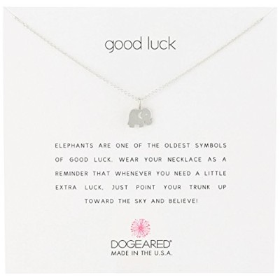 "[ドギャード] Dogeared Reminder sterling silver Good Luck/elephant ネックレス 16"" MRS S100 412704 ネックレス MRS..."