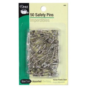 Safety Pins-Sizes 00 To 3 50/Pkg (並行輸入品)