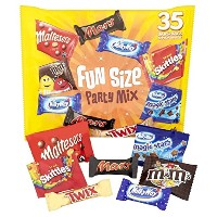 Mars Fun Size Party Mix 35 Pack マーズ パーティーミックス 35パック入り 海外直送 [並行輸入品]