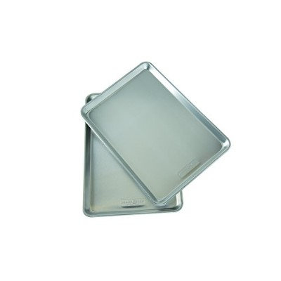 Nordicware Natural Aluminum Commercial Baker's Half Sheet , Silver by Nordic Ware