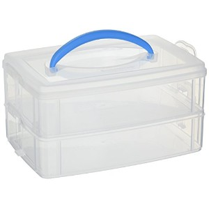 Snapware Snap 'N Stack 6.6-Inch by 9.8-Inch Storage Container, Rectangle by Snapware