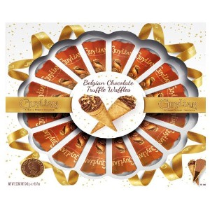 Guylian Chocolates Waffle Cones party box 240g Made in Belgium [並行輸入品]