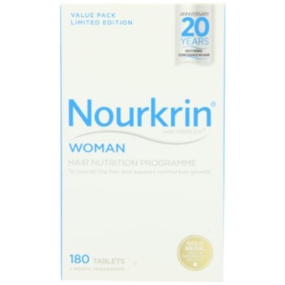 Nourkrin Daily Supplement For Woman Starter Pack - Pack Of 180 by clockwork retail [並行輸入品]