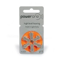 Power One Hearing Aid Batteries P13 (6 pack) by Power One [並行輸入品]
