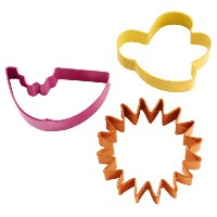 Wilton 2308-0212 Summer Picnic Cookie Cutter Set, 3-Pack- Discontinued By Manufacturer by Wilton