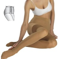 18-21mmHg MEDICAL COMPRESSION PANTYHOSE, Varicose Support Tights with Closed Toe CCL1 (XXL) by...