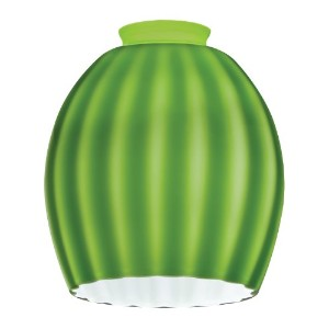 Lithonia Lighting DRBL 1008 M6 Decorative Ball Shade, Green Melon by Lithonia Lighting