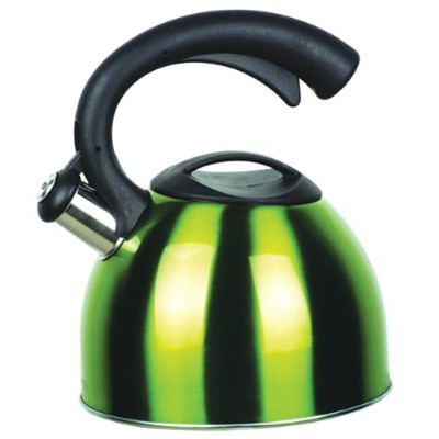 Strauss Stainless Steel 2.6 Quart Whistling Tea Kettle - Induction Ready  ケトル 2500ml グリーン