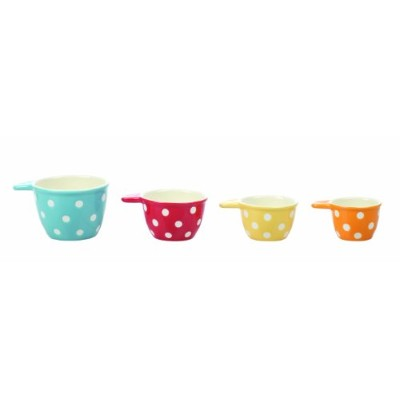 Creative Co-Op Ceramic Measuring Cup Set by Creative Co-op