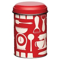 Kitchen Craft Metro - Kitchen Storage Canister - Ideal for Flour Biscuits Tea/Coffee & Bread -...