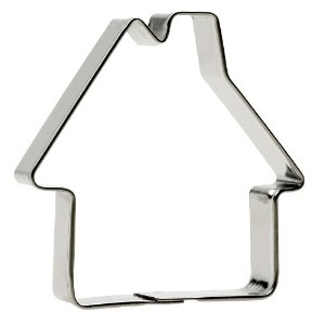 SVEICO 939450-1 House Shaped Cookie Cutter, 7cm by Sveico