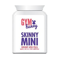 GYM BUNNY SKINNY MINI WEIGHT LOSS PILLS減量の丸薬 - ダイエット錠剤は、体重、体脂肪がFAST LOSE Jimu BUNNY SKINNY mini...