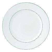 Royal Doulton Signature Platinum Dinner Plate, 10.5, White by Royal Doulton