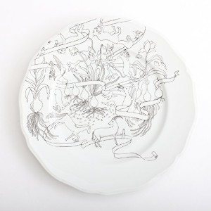 PASS THE BATON Remake Tableware PLATE 23cm