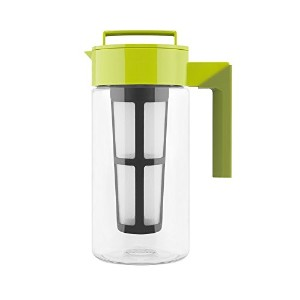 Takeya Flash Chillテつョ Iced Tea Maker (1 Quart, Avocado) by Takeya