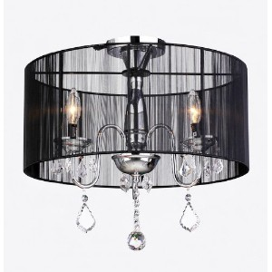 Round Stain Crustal Chandelier by Warehouse of Tiffany