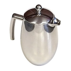 32 Oz. Venice Double Wall Stainless Steel Coffee Press by ZUCCOR [並行輸入品]