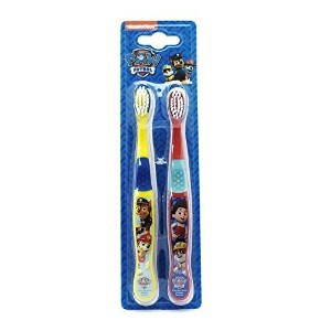 Paw Patrol Toothbrushes 3+ Years Yellow / Red Nickelodeon - by Nickelodeon