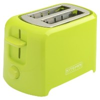 Kitchen Selectives Cool-Touch 2 Slice Toaster - Lime Green by Kitchen Selectives