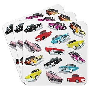 Epic Products Cars Coasters ( Set of 25 )、マルチカラー
