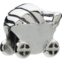 Authentic Chamilia Charm Baby Carriage Bead ga-61